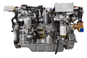 Hyundai Seasall H380 diesel engine