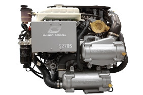 Hyundai SeaSall S270 diesel engine