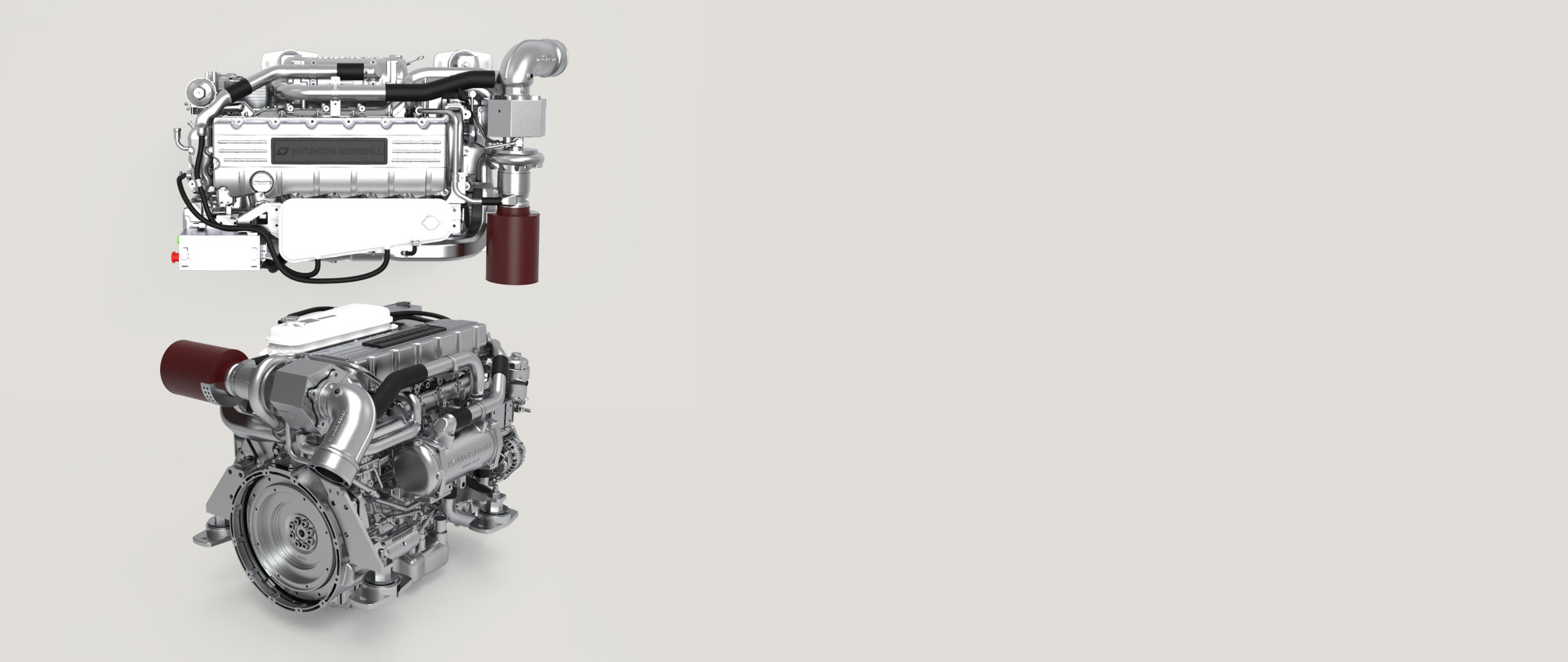 Hyundai Seasall G-Series diesel engine