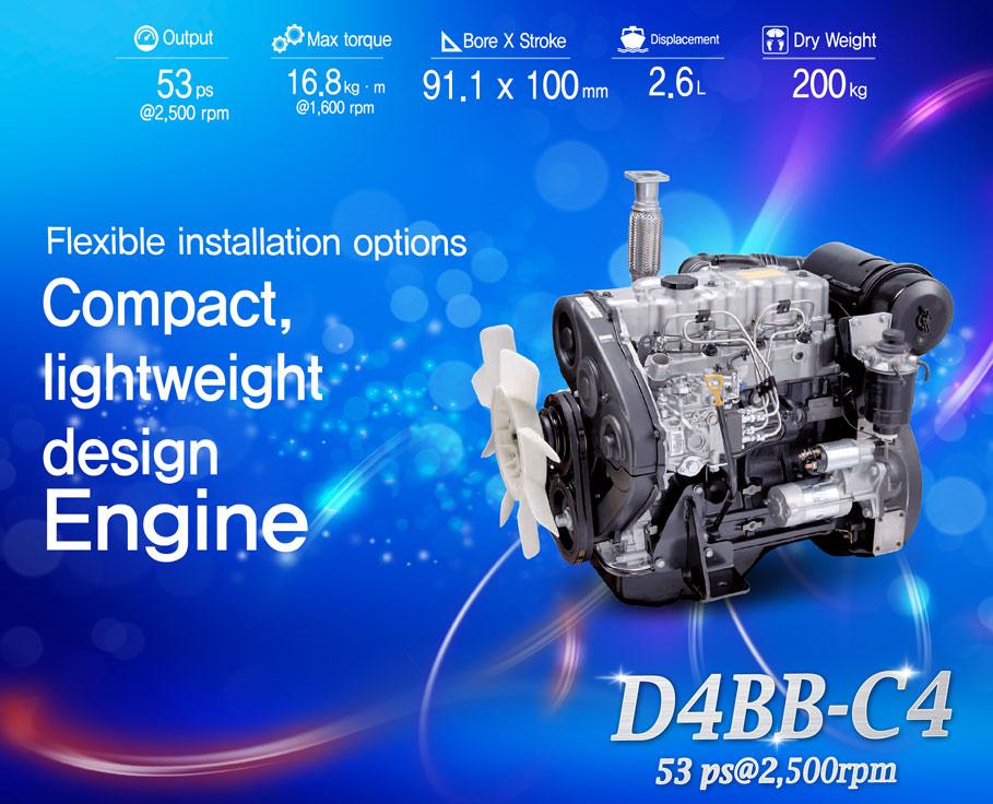 D4BB-C4 engine