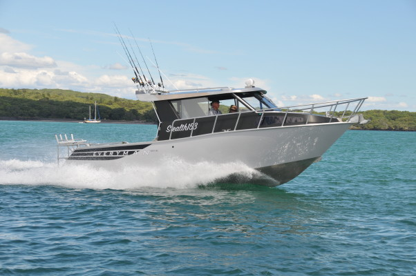 Hyundai SeaSall Australia S270 engine install